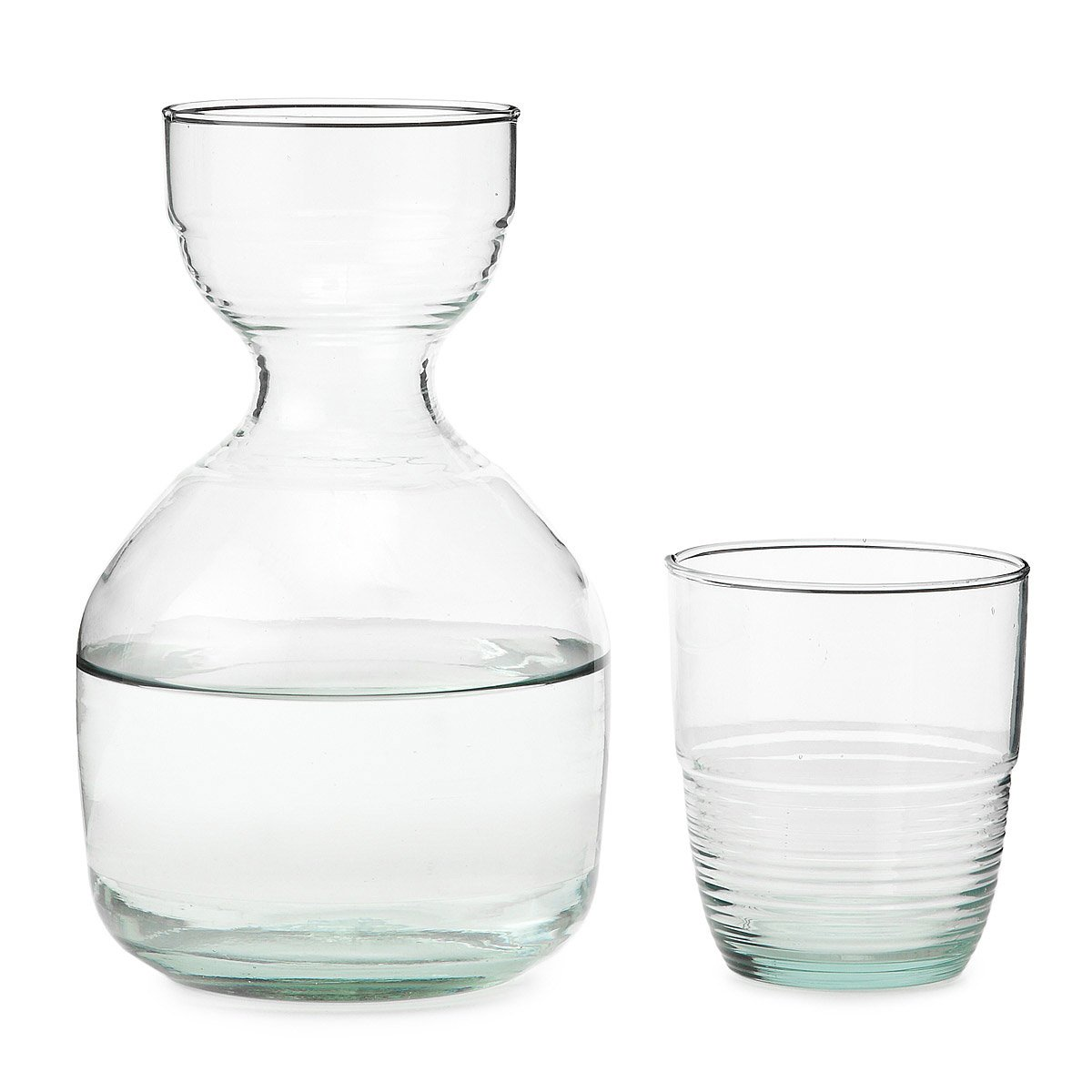 Recycled Carafe And Glass 2 Thumbnail