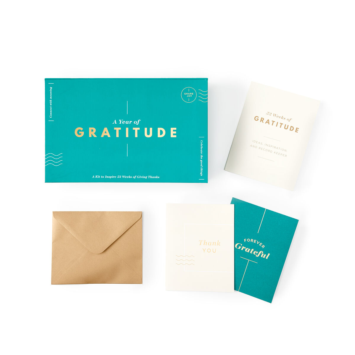 A Year Of Gratitude Thank You Cards One Year Uncommongoods