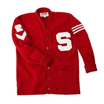 Customized Letterman Sweater