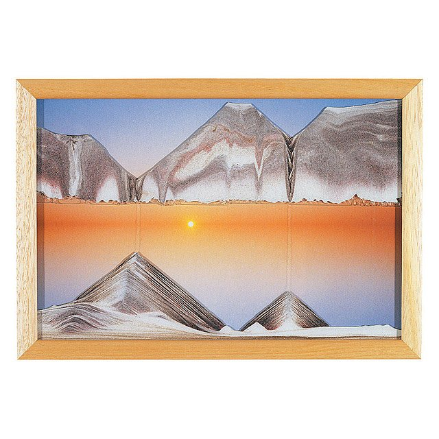 Sunset Sand Art