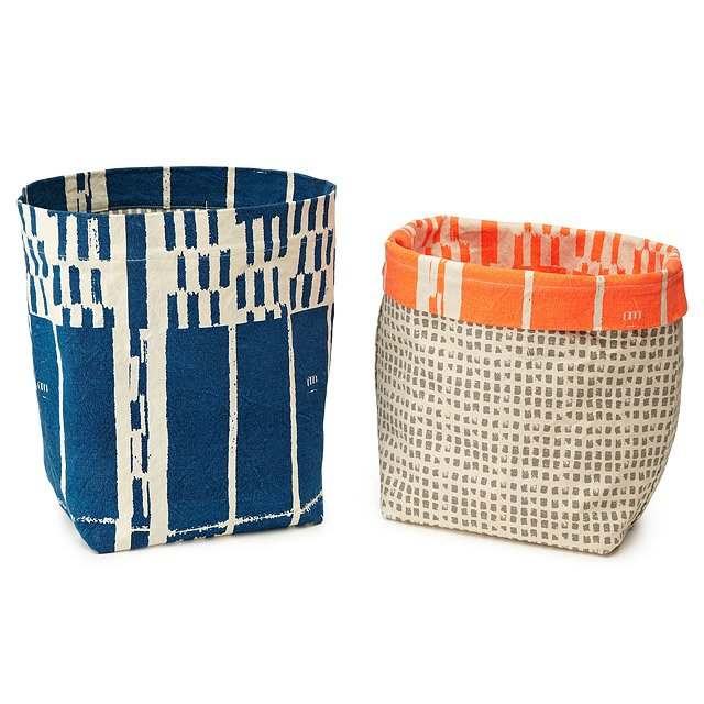 Canvas Storage Bins 2