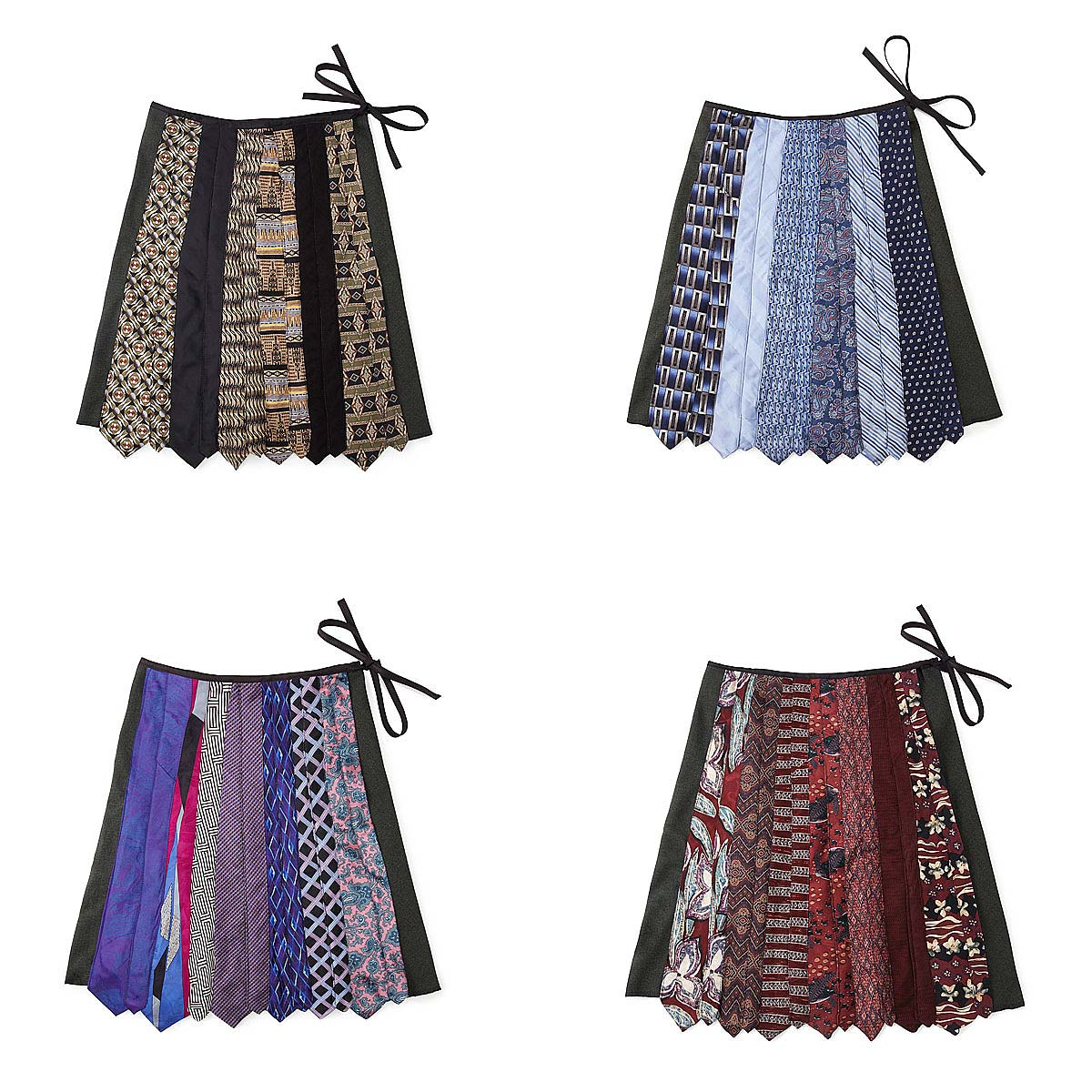Skirt Made From Ties 86