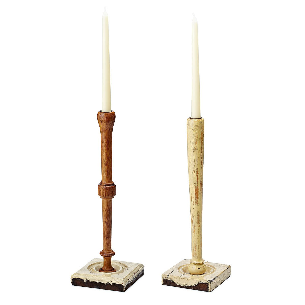 Candlestick from natural materials 47