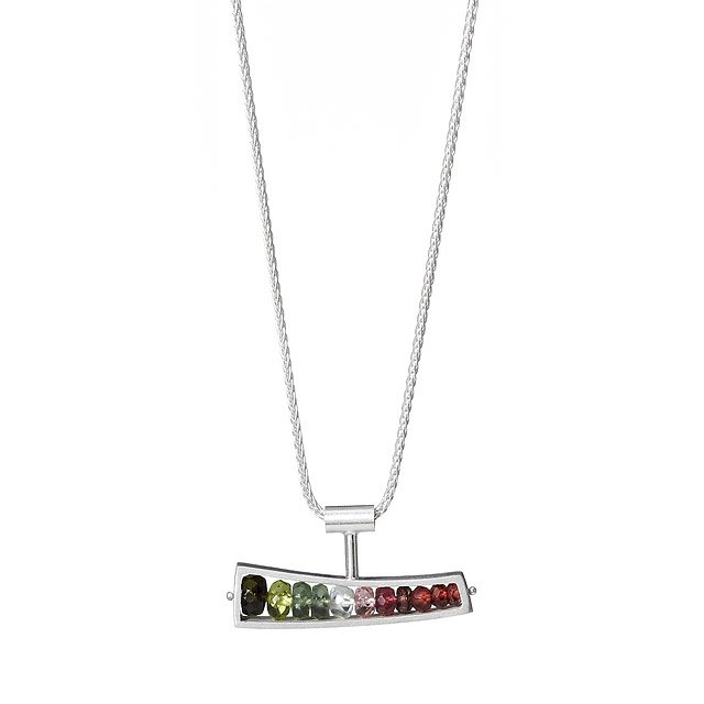 Watermelon Wedge Necklace