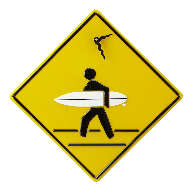 Surfer-Xing Clock