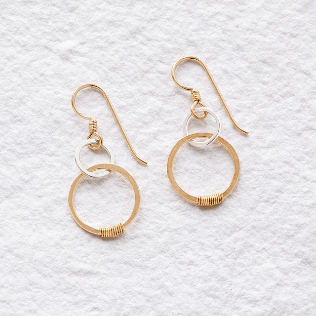 Links of Love Earrings