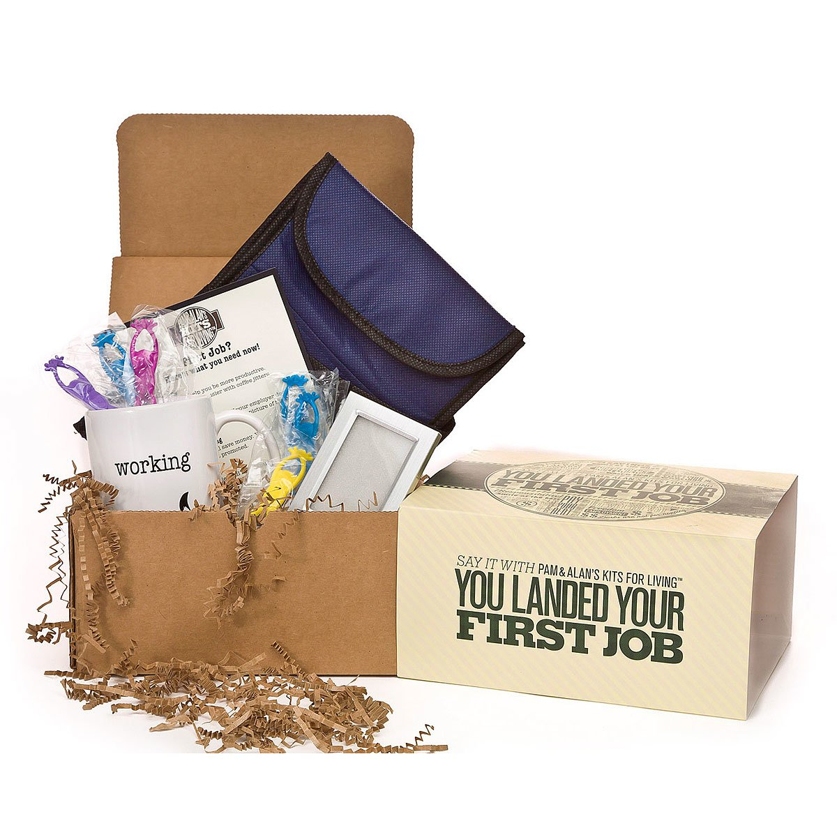 you landed your first job kit congratulations gift for new job you landed your first job kit 1 thumbnail