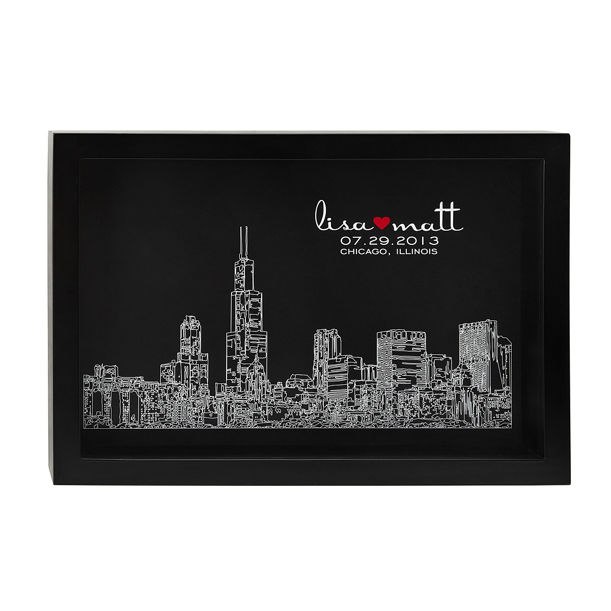 Wedding Gifts For 2 Grooms : Skyline of Love personalized wedding gift, custom UncommonGoods
