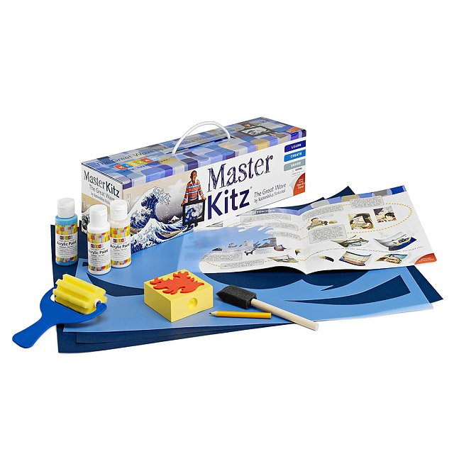 The Great Wave Master Art Kit for Kids