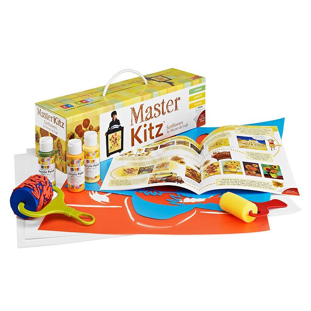 Sunflowers Master Art Kit for Kids