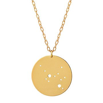 Gold Astrology Necklace