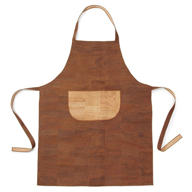Designer Kitchen Aprons two-tone cork apron | designer kitchen aprons | uncommongoods