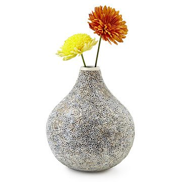Recycled Paper Honeycomb Vase