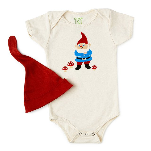 Gnome babysuit hat organic gnome cute unique gifts for new gnome babysuit hat negle Images