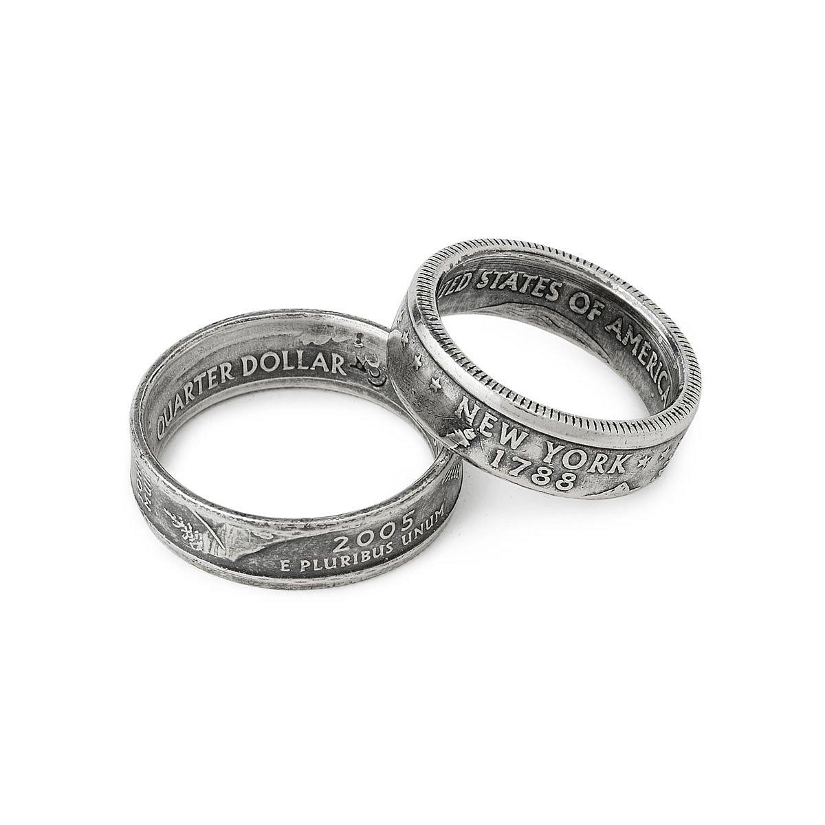 state quarter ring unique wedding ring State Quarter Ring 1 thumbnail