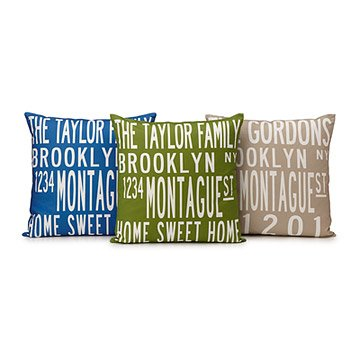 Custom Family Pillow