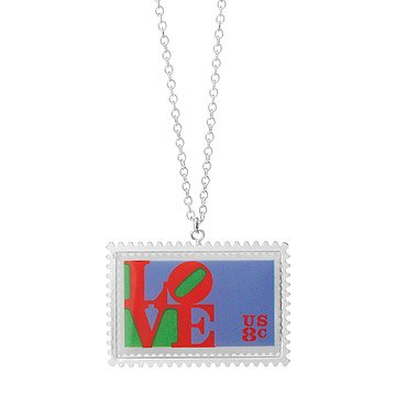 LOVE Stamp Necklace (1973)