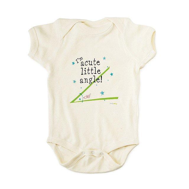 72cb88558 Acute Angle Babysuit   unisex baby clothes, tiffany ard, nerdy ...