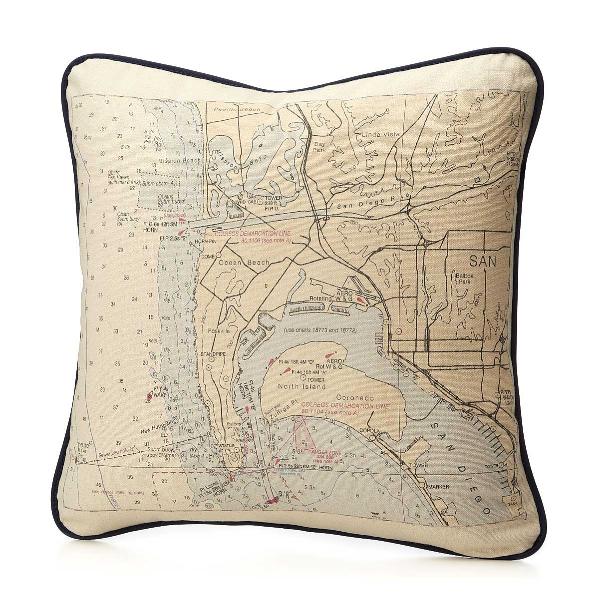 Throw Pillows  Blankets UncommonGoods - Us map pillow personalized