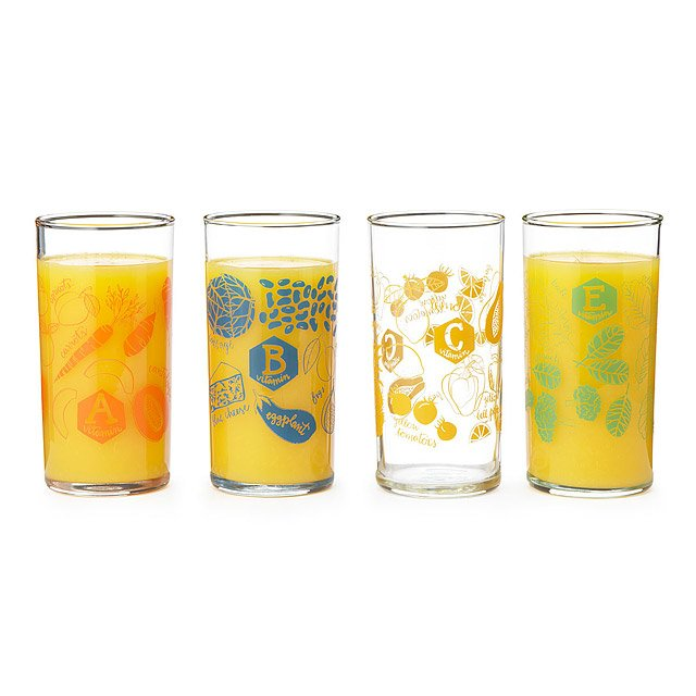 Daily Dose Glasses - Set of 4
