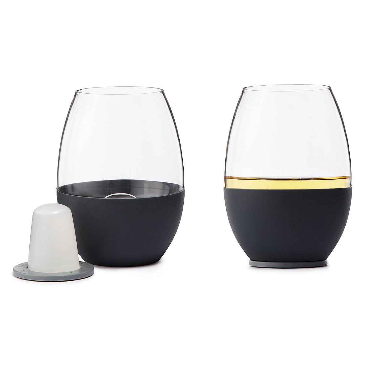 self chilling wine glasses set of 2 1 thumbnail
