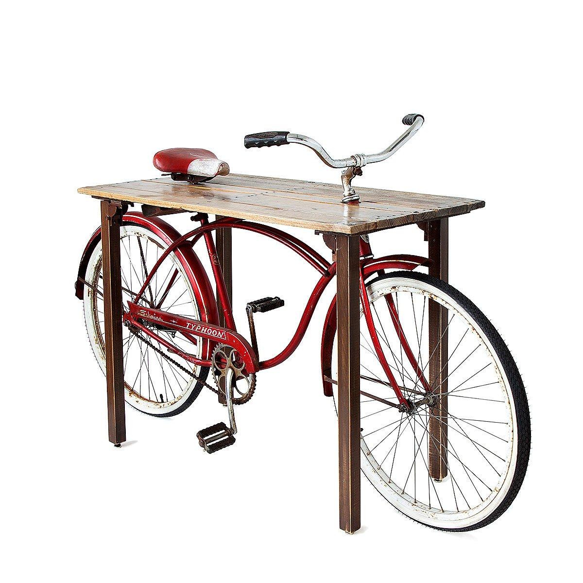 Bicycle Furniture Bike Table Bicycle Home Daccor Hardware Reused In Furniture