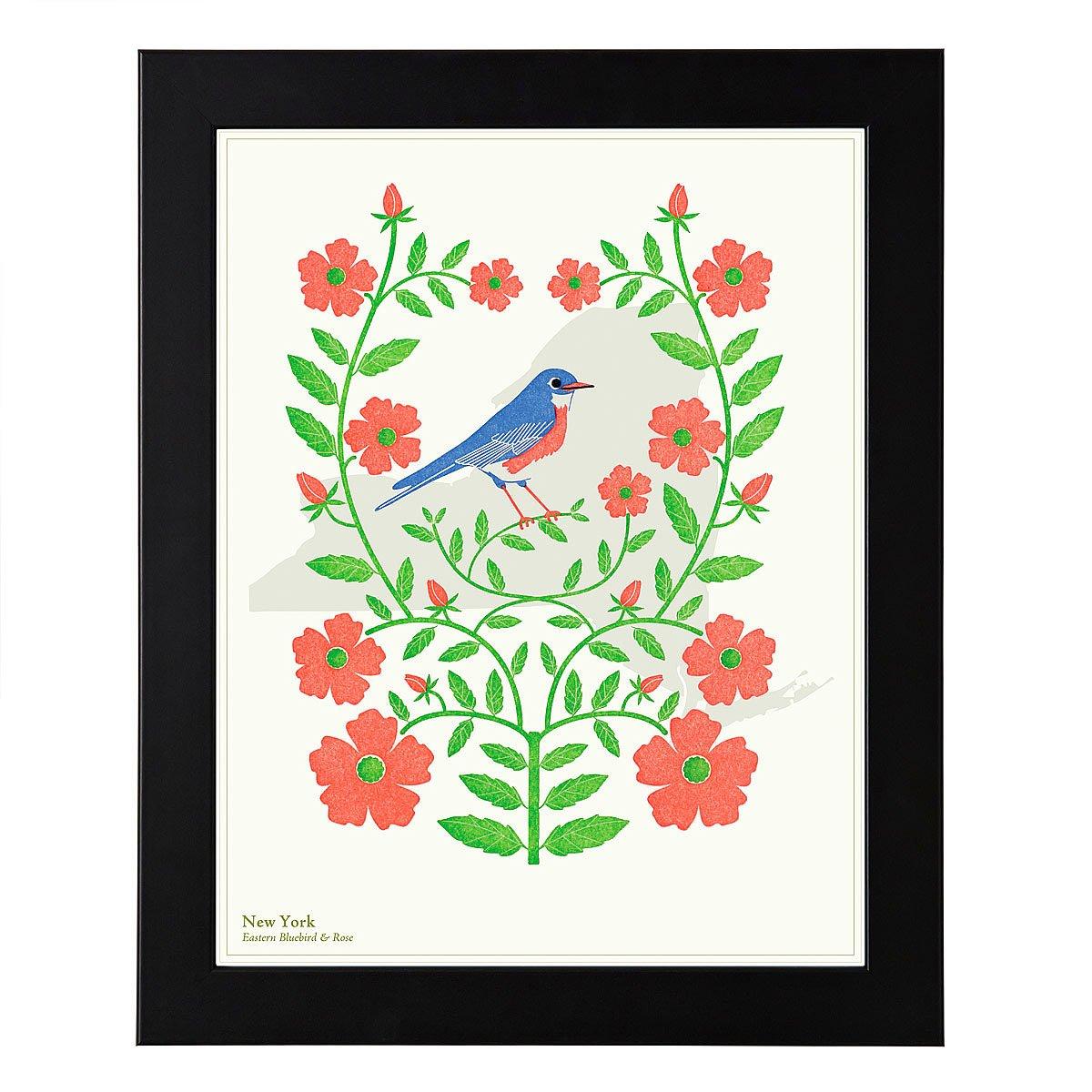 Co color art printing alaska - Birds And Blooms Art Individual States 3 Thumbnail