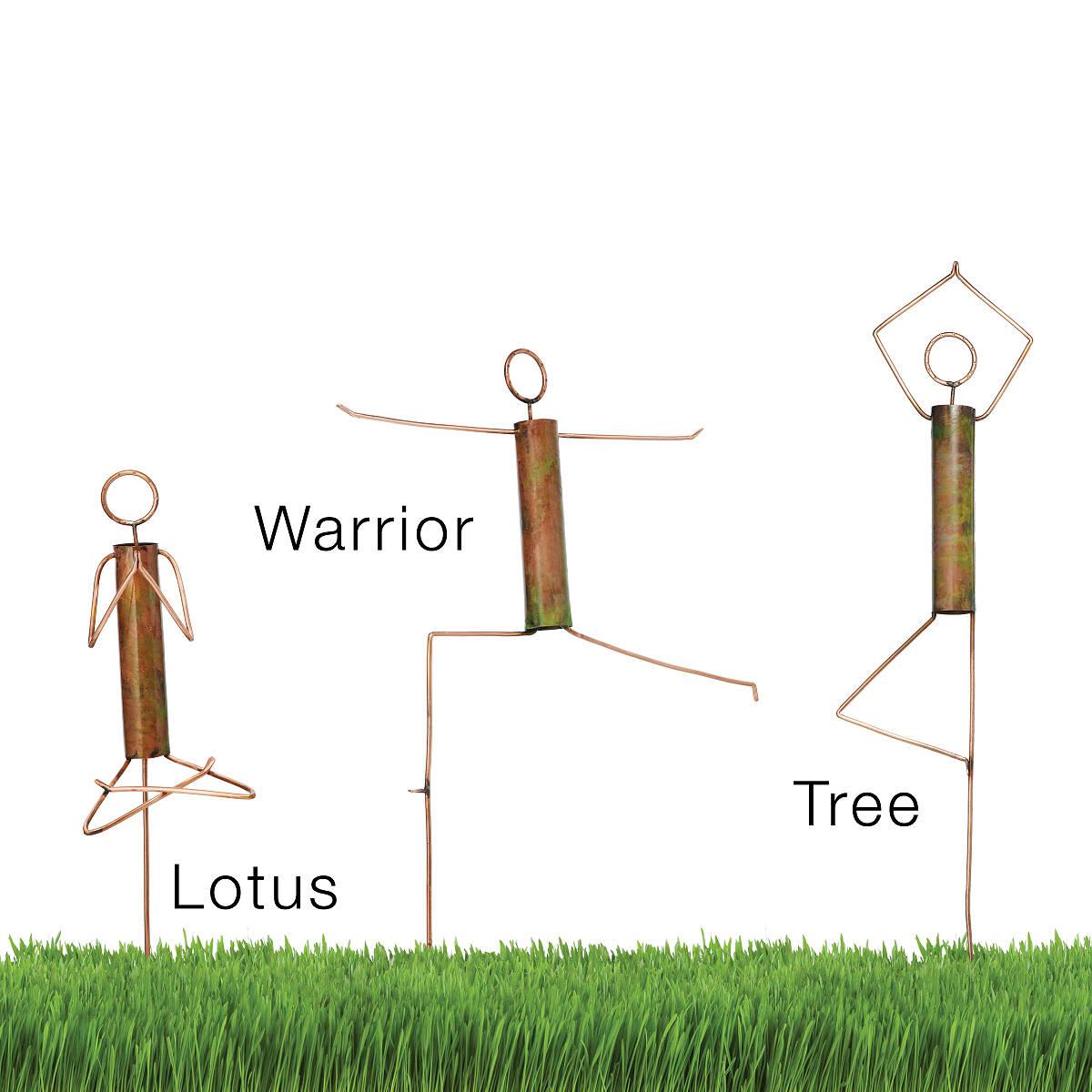 Yoga Pose Garden Sculptures 2 Thumbnail