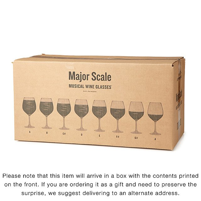 1f0401821b21 Major Scale Musical Wine Glasses - Party Set | etched wine glasses ...