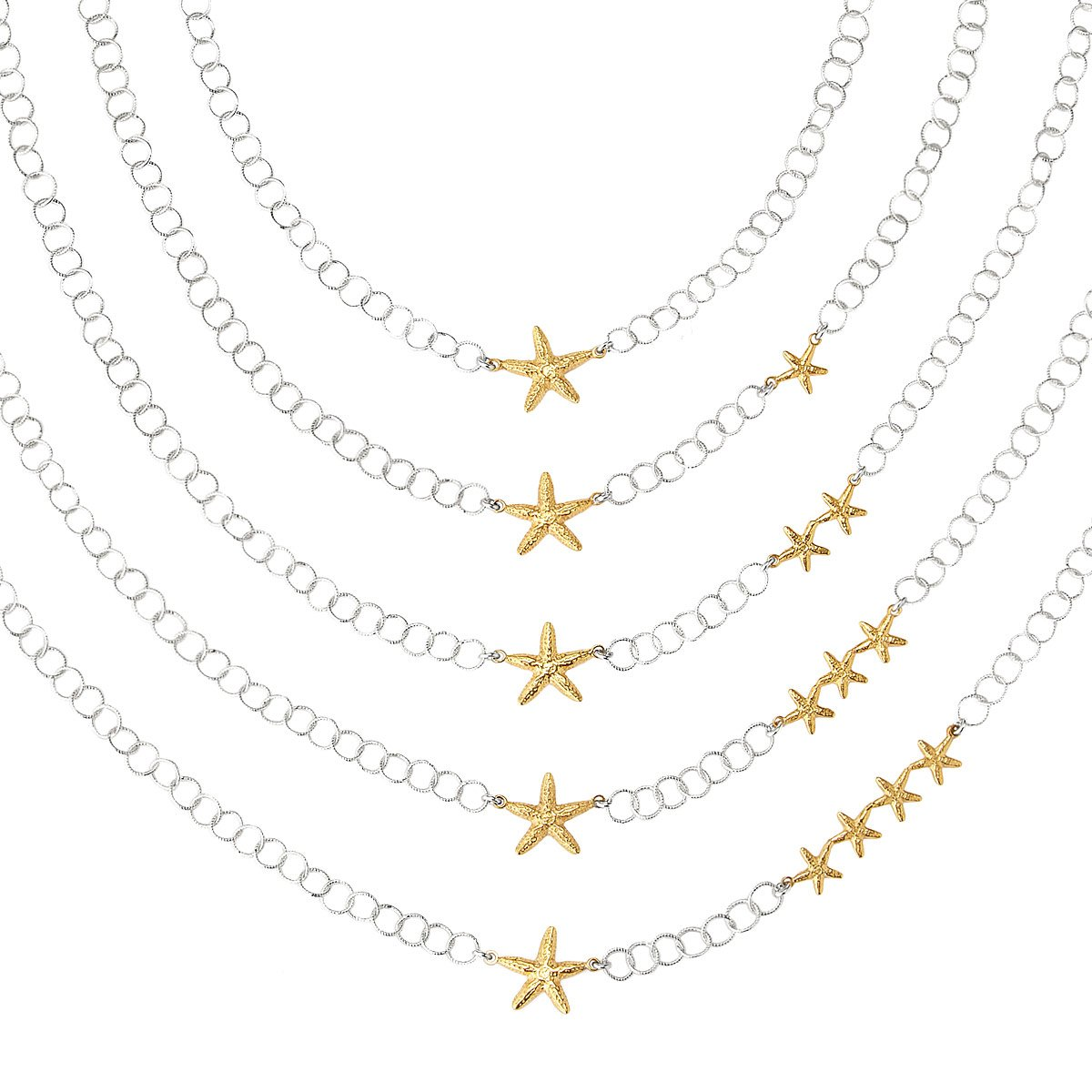 lucky products bowerhaus n l necklace buttermilk