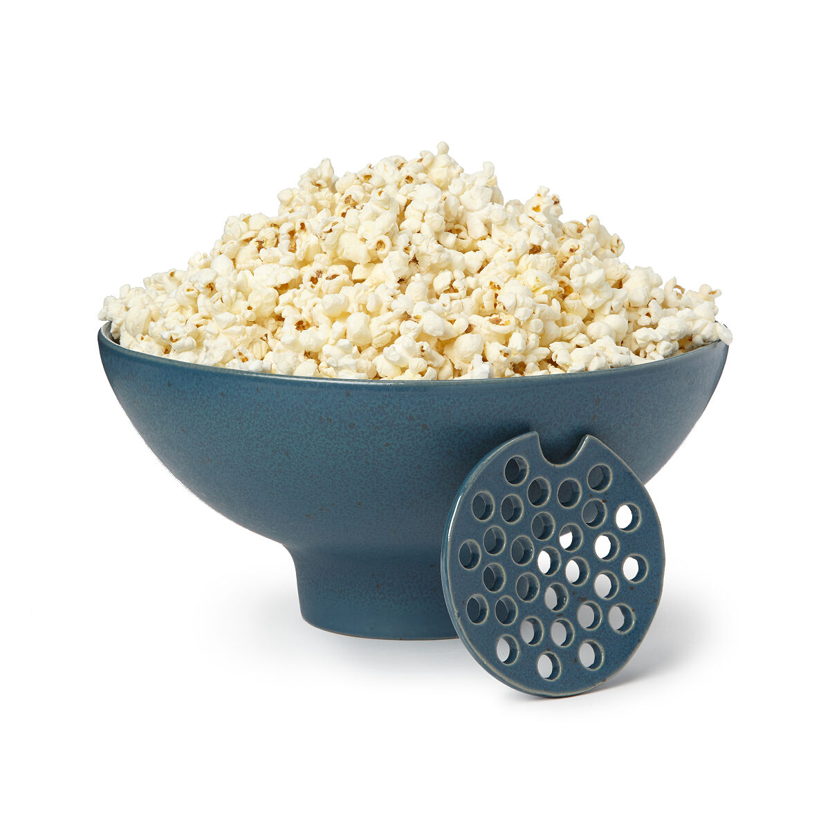 The Popcorn Bowl with Kernel Sifter | popcorn dish | UncommonGoods