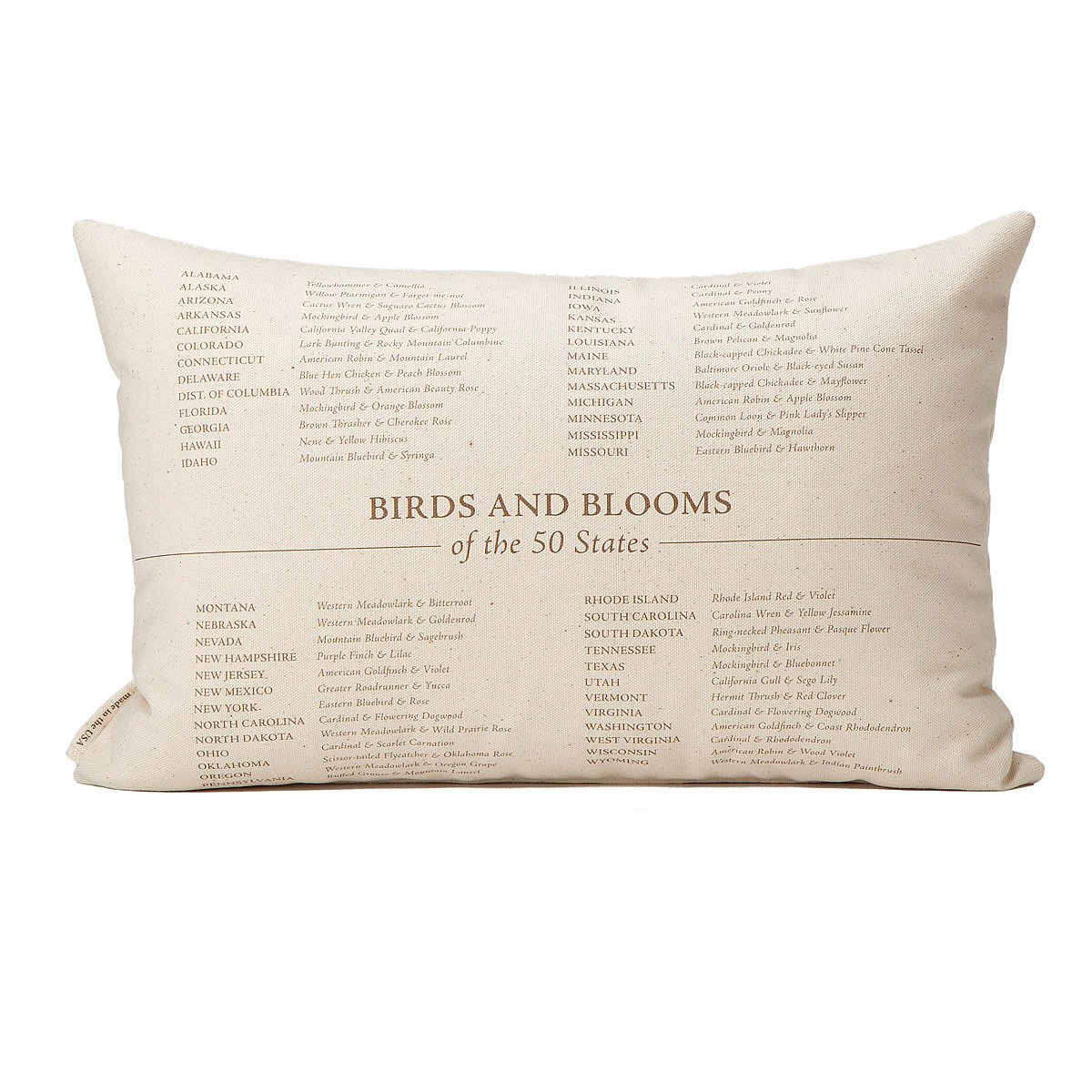 Birds And Blooms Pillows
