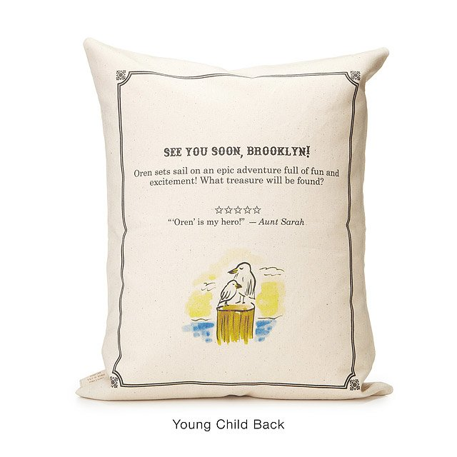 Personalized Storybook Pillow - Adventure