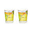 Margarita Diagram Glassware - Set of 2 3 thumbnail