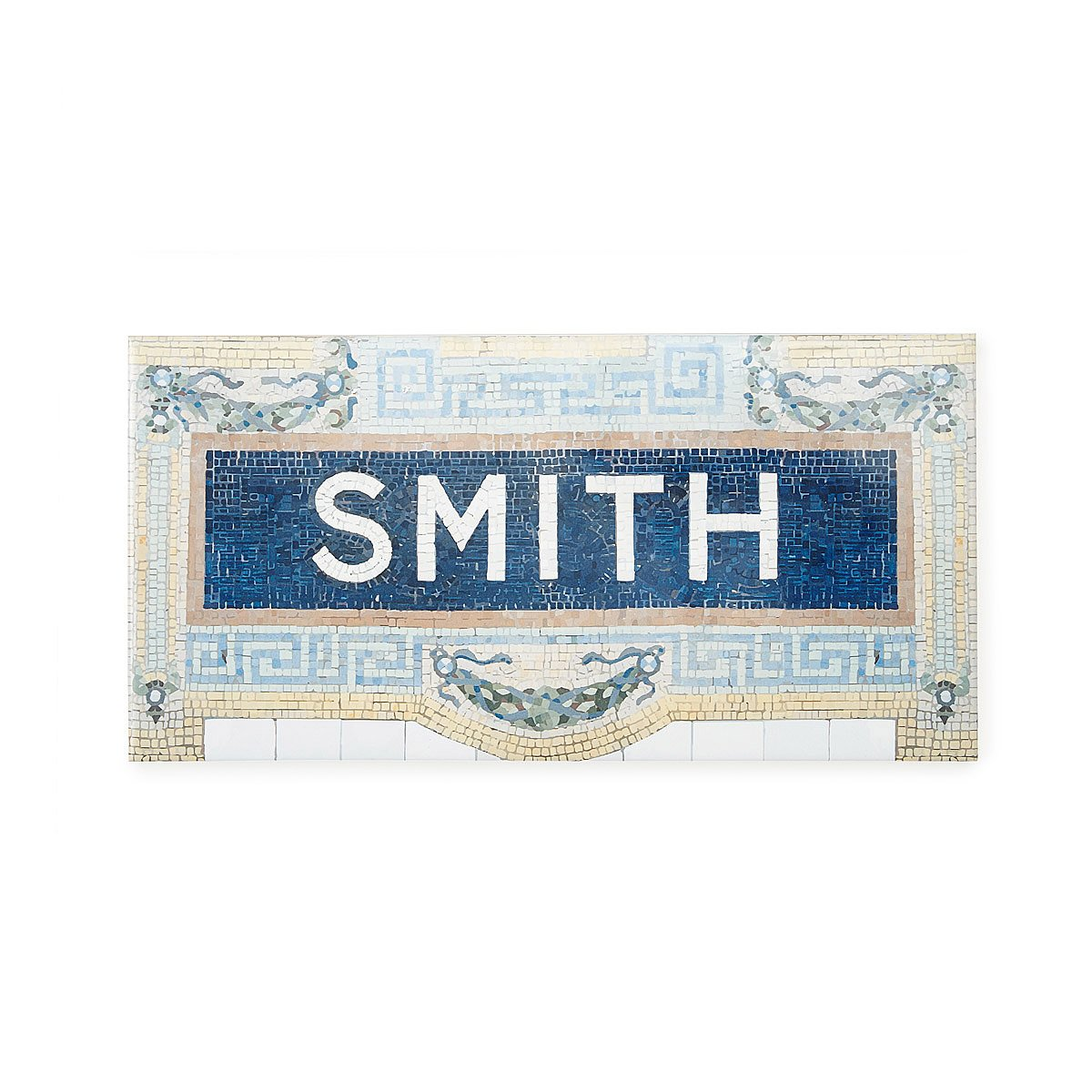 Personalized House Sign - Times Square Subway | subway signs ...