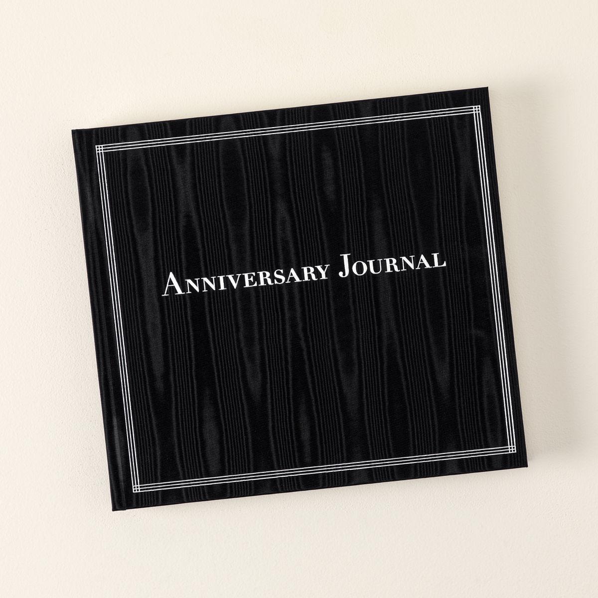 The Anniversary Journal anniversary book UncommonGoods