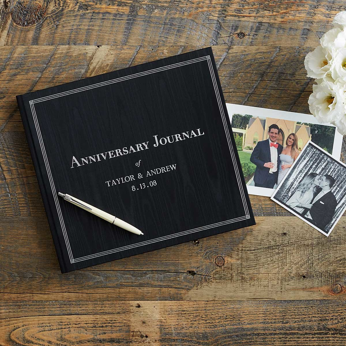 Customizable The Personalized Anniversary Journal