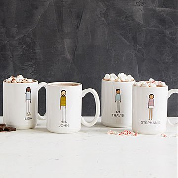 Personalized Family Mugs