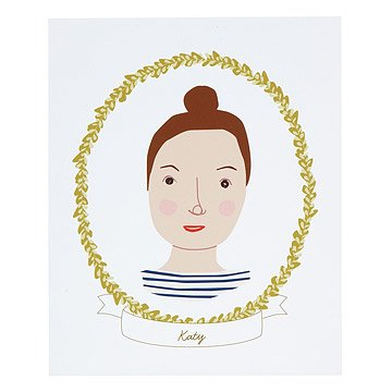 Personalized Individual Cameo Portrait