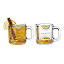 Hot Toddy Diagram Glassware - Set of 2 2 thumbnail