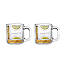 Hot Toddy Diagram Glassware - Set of 2 3 thumbnail
