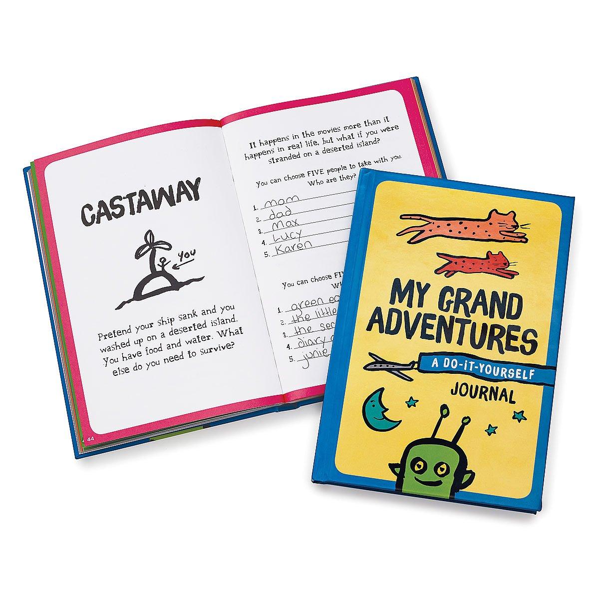 My grand adventures a diy journal kids journal uncommongoods my grand adventures a diy journal 1 thumbnail solutioingenieria Gallery