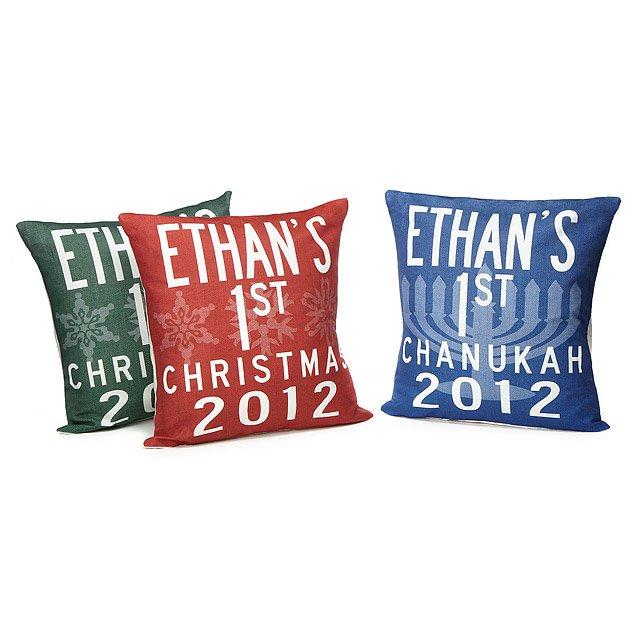 Baby's 1st Holiday Pillows