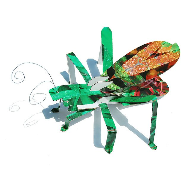 Grasshopper Cardboard Building Set
