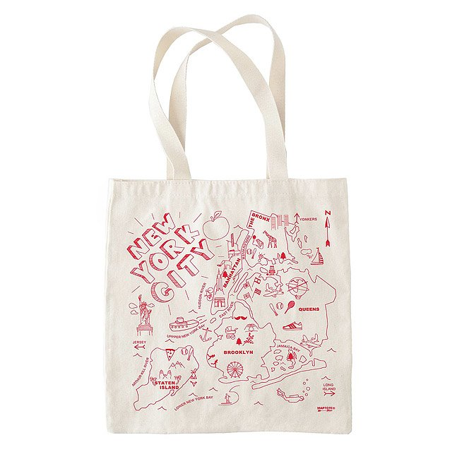 Geography Market Tote