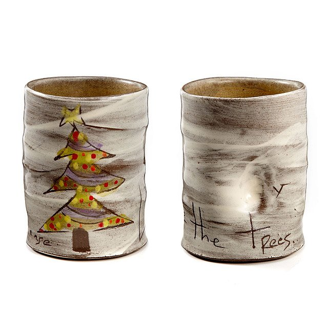 Christmas Tree Cups - Set of 2