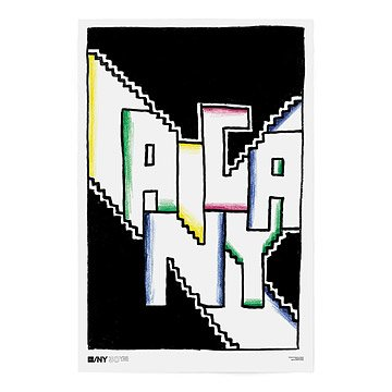 AIGA/NY 30th Anniversary Poster - Seymour Chwast
