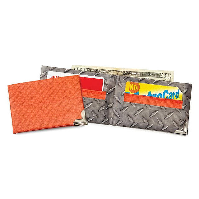 Make Your Own Duct Tape Wallet - Diamond Plate