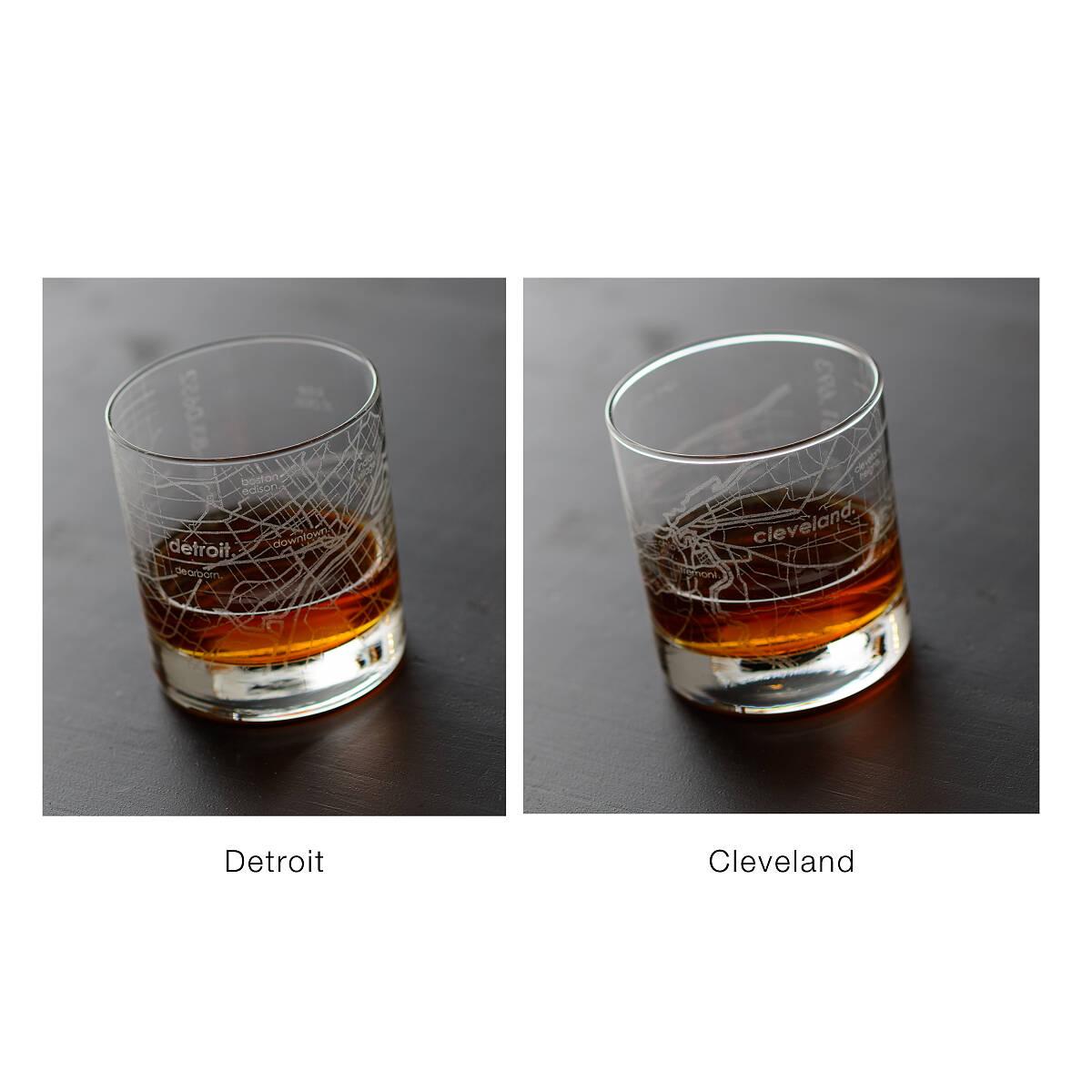 City Map Glass City Glass New York Chicago San Francisco - Chicago map new york