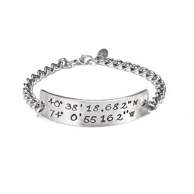 cuff for coordinates products lo bracelet lat xl him latitude